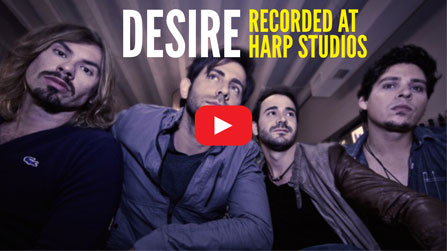 Desire Recorded at Harp Studios